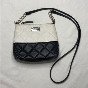 + Nine West Black and White Small Crossbody